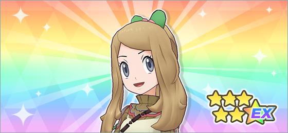 Pokémon Masters EX Serena San Valentin