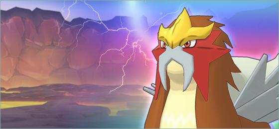 Entei Pokémon Masters EX