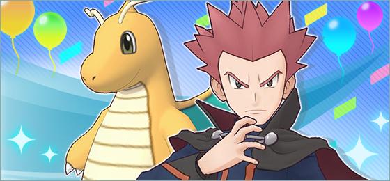 Pokéfestival Pokémon Masters Lance y Dragonite
