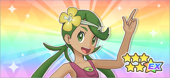 Mallow / Lulú y Tsareena Pokemon Masters EX